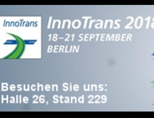 Pioonier auf der InnoTrans 2018 in Berlin